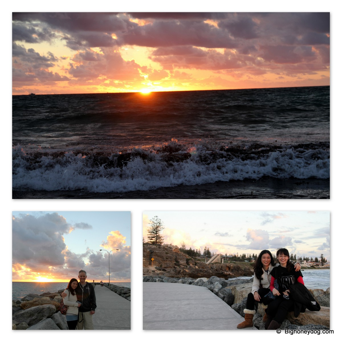 Cottesloe-sunset-collage